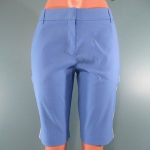 Tory Sport Blue Side Stripe Bermuda Shorts